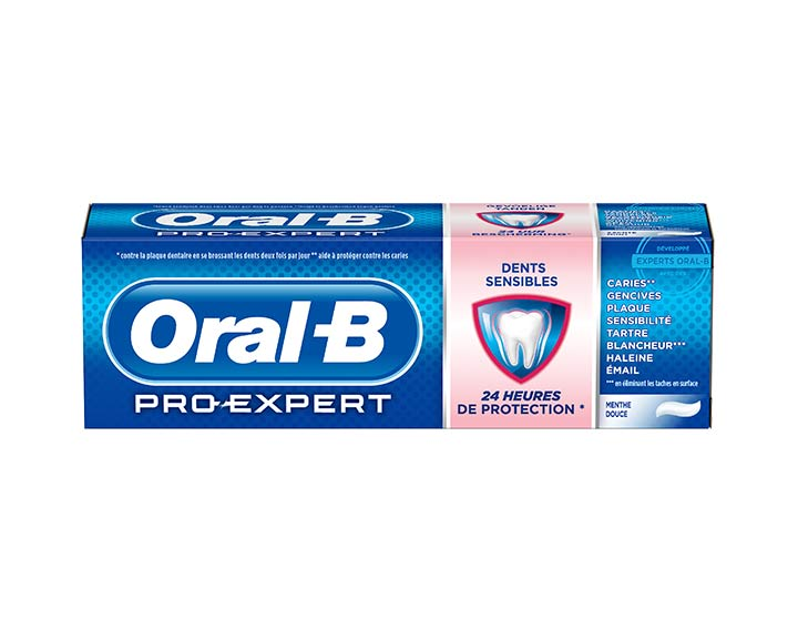 Oral-B Pro-Expert Dents Sensibles