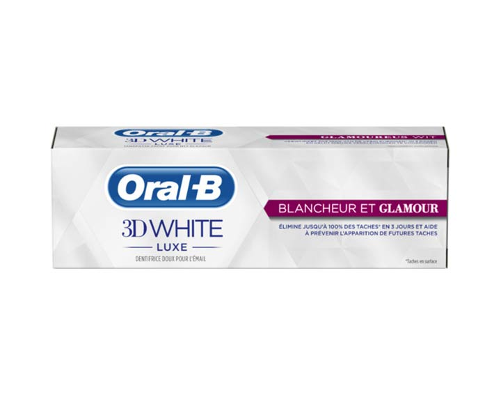 Oral-B 3D White Luxe Blancheur et Glamour