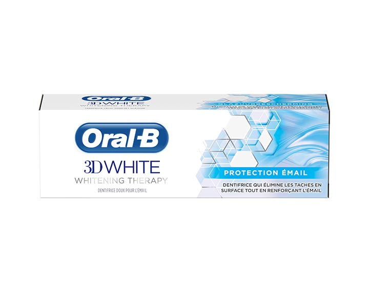 Oral-B 3D White Whitening Therapy Protection Email