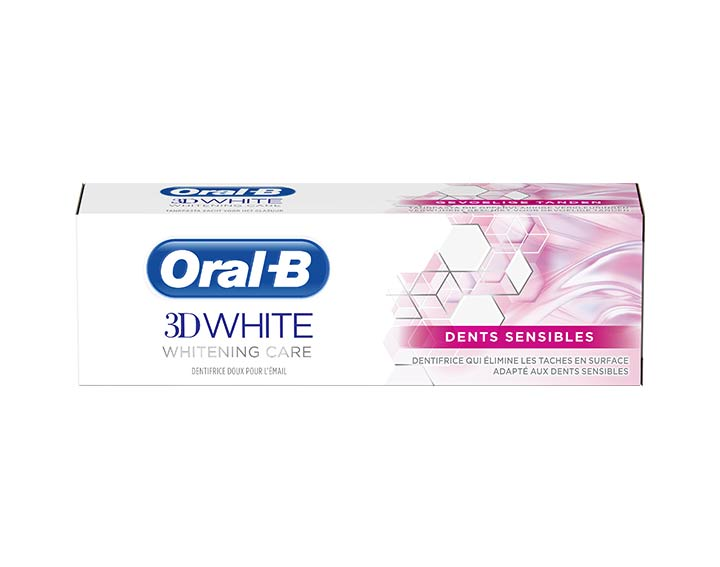 Oral-B 3D White Whitening Therapy Dents Sensibles