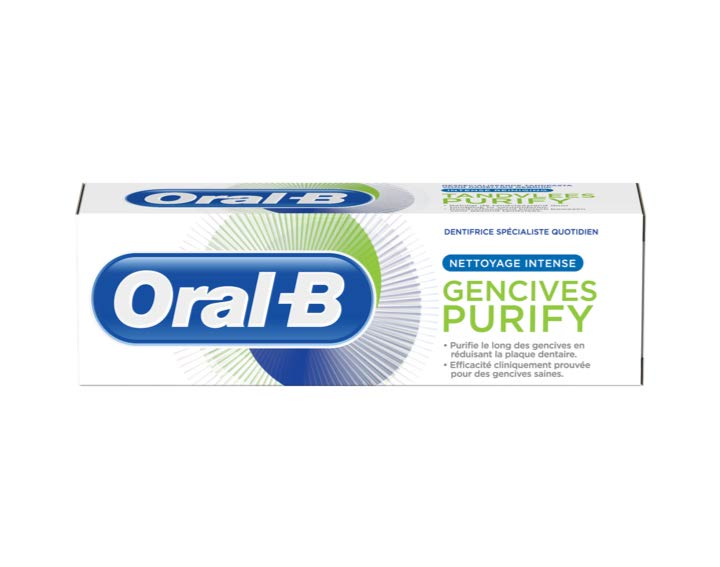 Oral-B Gencives Purify Nettoyage Intense