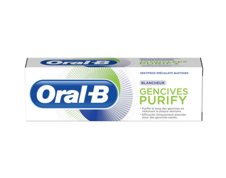 Oral-B Gencives Purify Blancheur