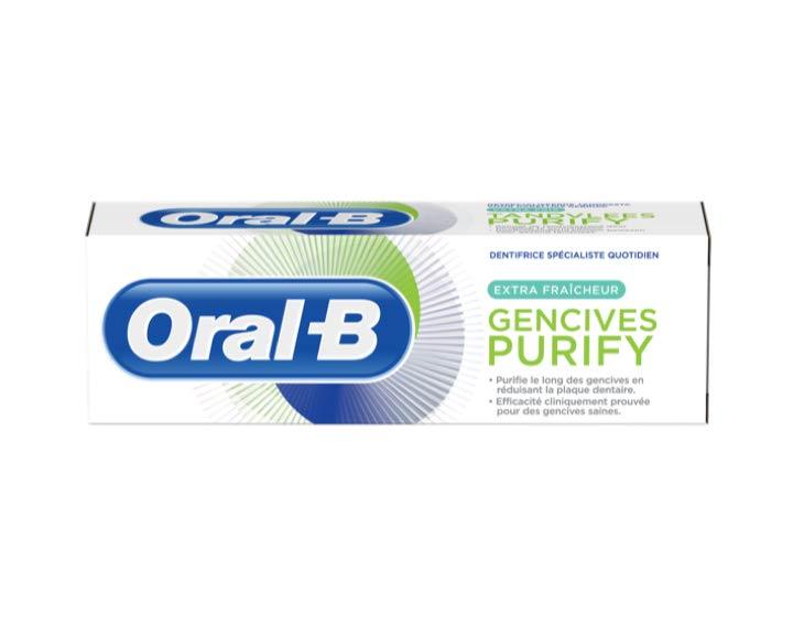 Oral-B Gencives Purify Extra Fraîcheur