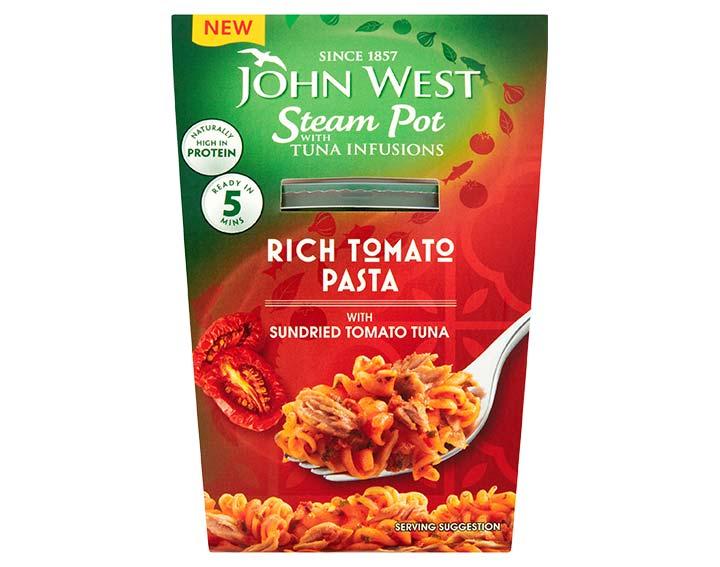Sundried Tomato Tuna with Rich Tomato Pasta