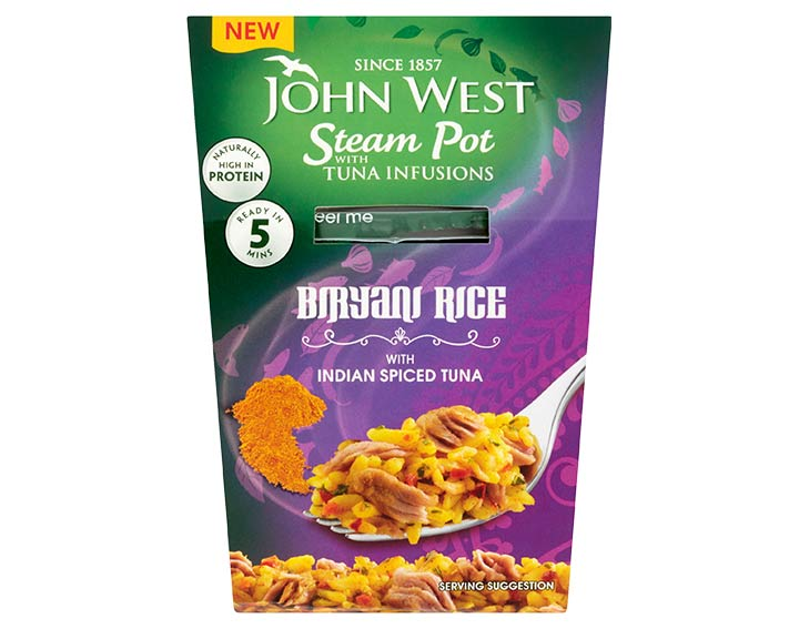 Indian Spiced Tuna with Biryani Rice