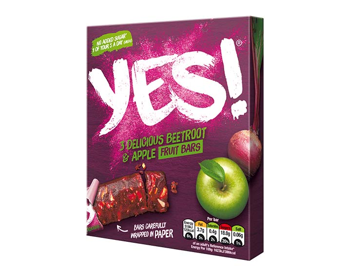 Beetroot and Apple Fruit Bar 3x32g