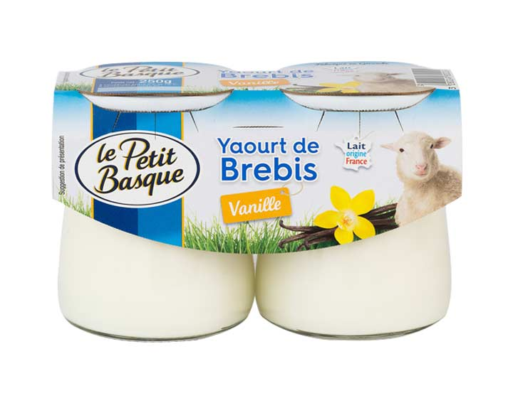 Yaourt de brebis vanille 2x125g