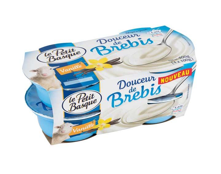Douceur de brebis vanille 4x100g