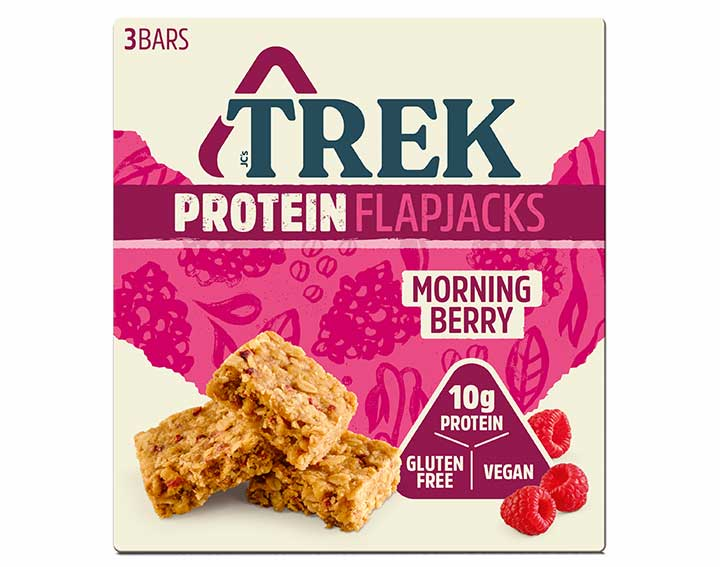 Flapjack Morning Berry 3x50g
