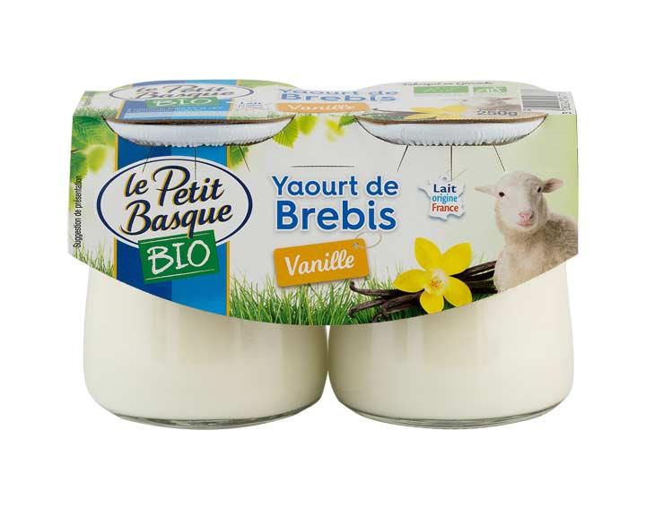 Yaourt de brebis Bio vanille 2x125g