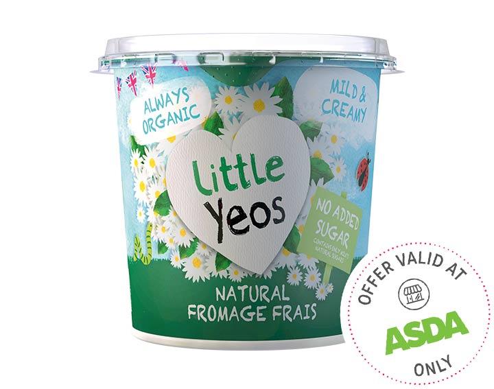 Natural Fromage Frais Big Pots 340g