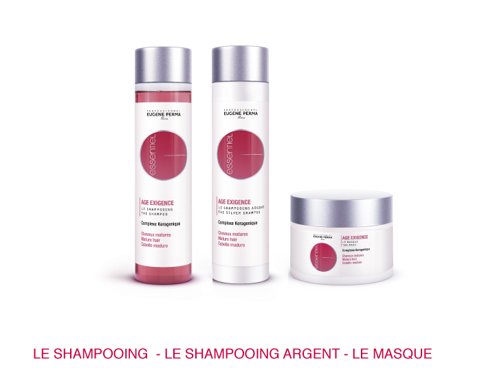 AGE EXIGENCE - cheveux matures