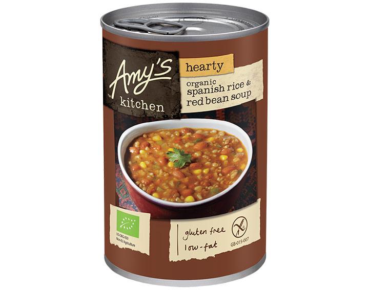 Organic Hearty Spanish Rice & Red Bean 416g