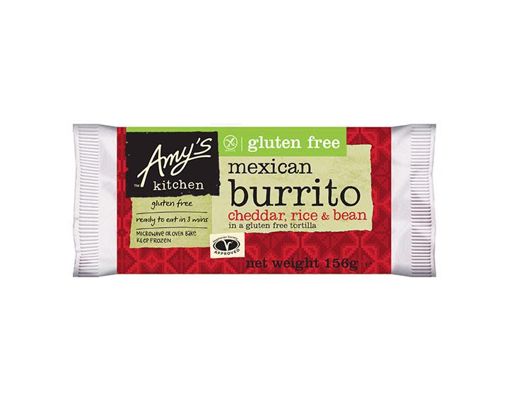 Gluten Free Bean & Cheese Burrito 156g