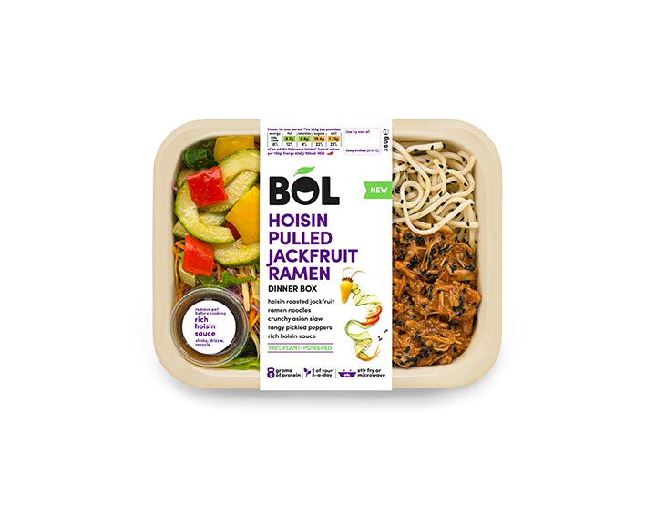 Hoisin Pulled Jackfruit Ramen 380g