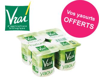 Vrai - Yaourt Nature Bio 4x152g
