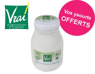 Vrai - Yaourt Nature Brassé Bio 500g