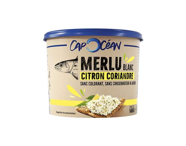 Merlu Citron Coriandre 140g