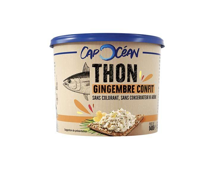Thon Gingembre Confit140g
