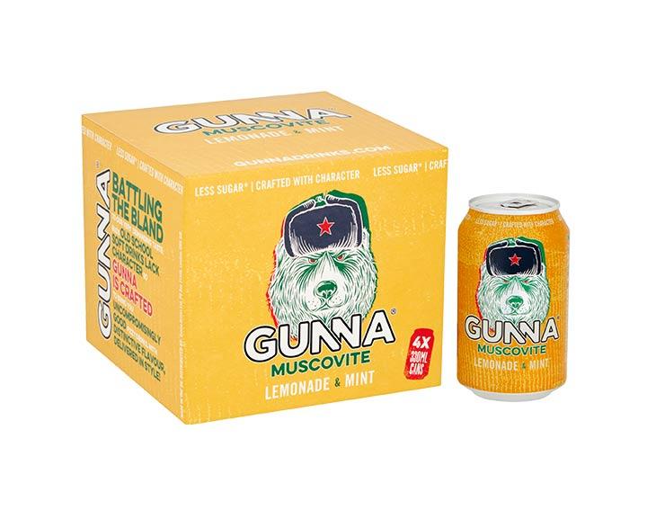 Gunna Muscovite 4x330ml