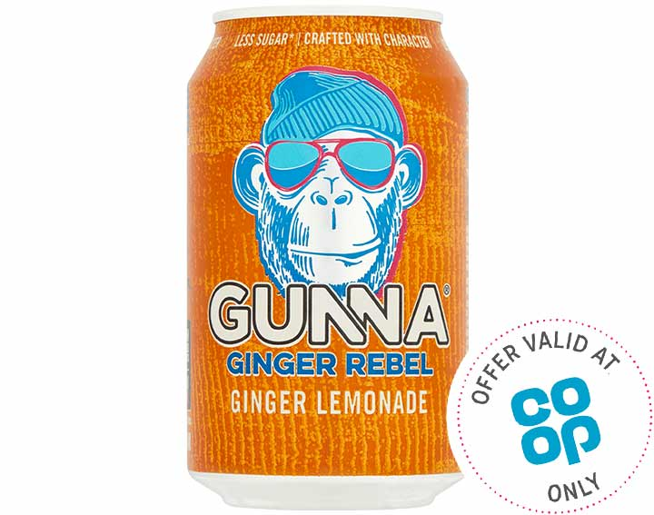 Ginger Rebel Ginger Lemonade 300ml