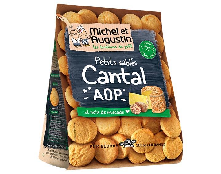 Sablés apéritif Cantal AOP 100g