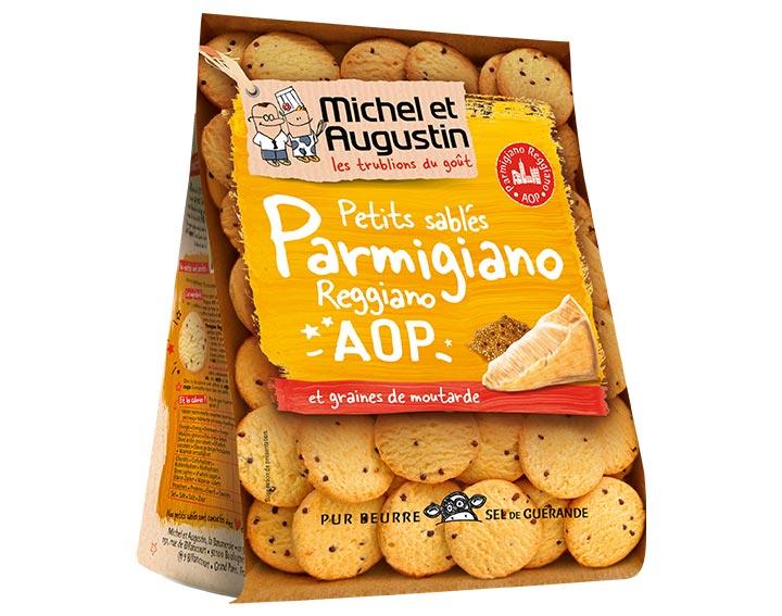 Sablés apéritif Parmigiano Reggiano 120g