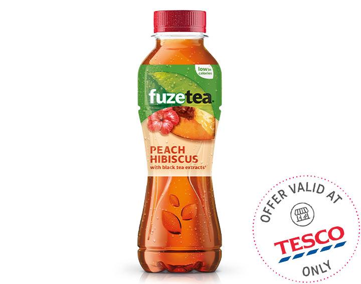 Fuze Tea Peach Hibiscus 400ml