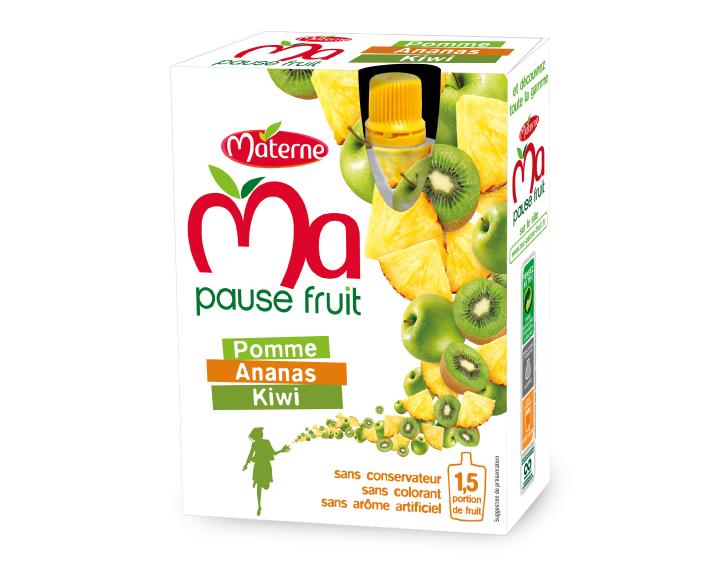 Ma Pause Fruit - Pomme Ananas Kiwi