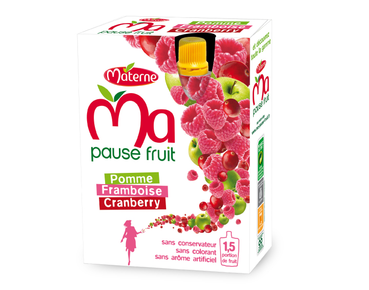 Ma Pause Fruit - Pomme Framboise Cranberry