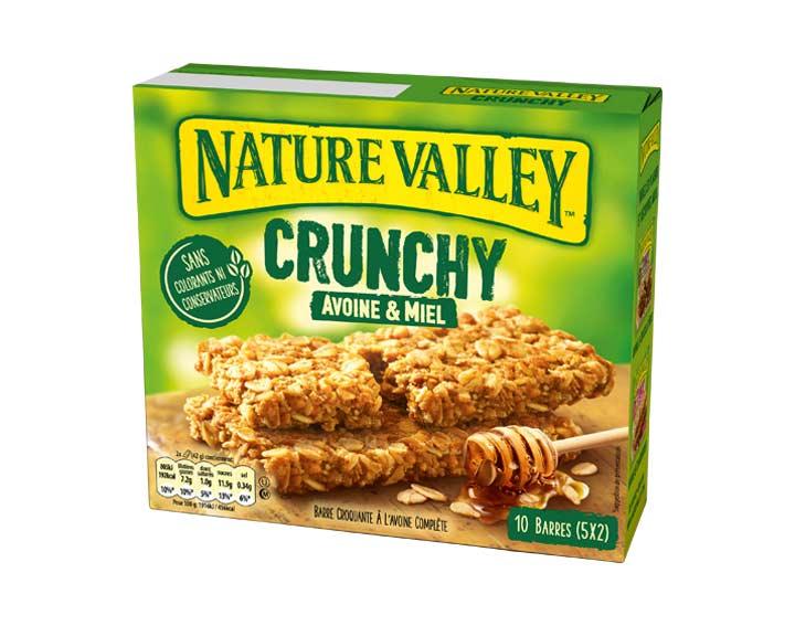 Crunchy Avoine & Miel 5 x 42g