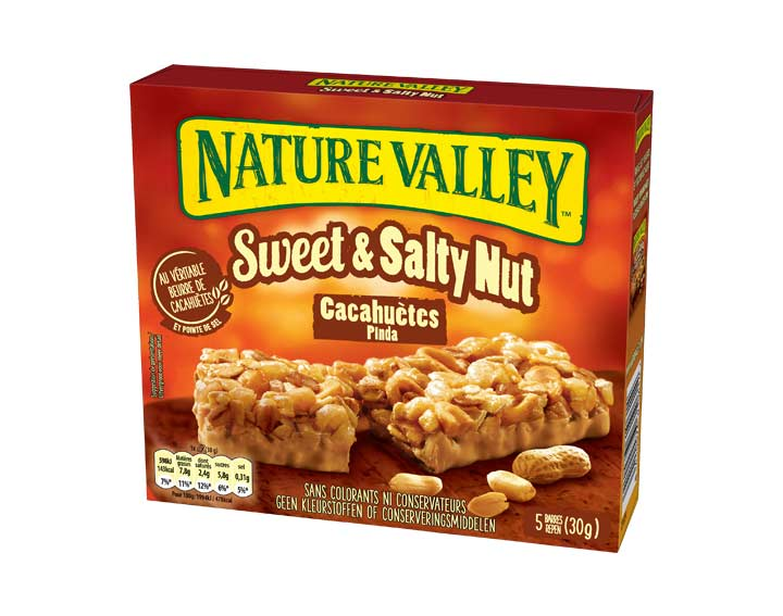 Sweet & Salty Nut Cacahuètes 5 x 30g
