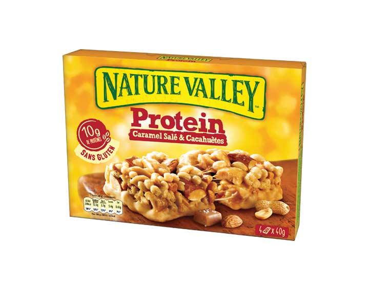 Protein Caramel Salé & Cacahuètes 4 x 40g
