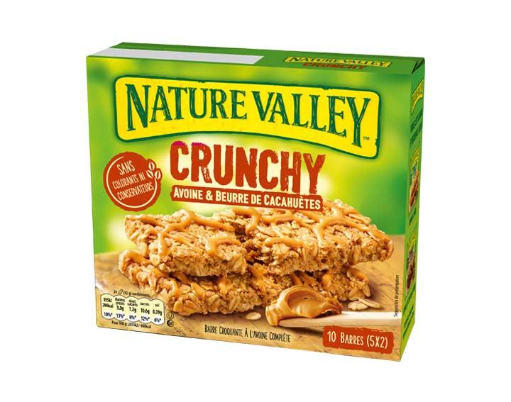 Crunchy Avoine & Beurre de Cacahuètes 5 x 42g