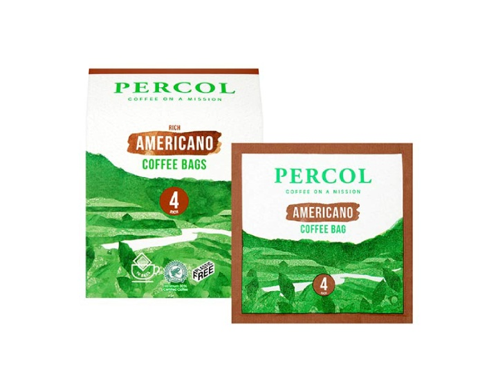 Rich Americano Coffee Bags 10x8g