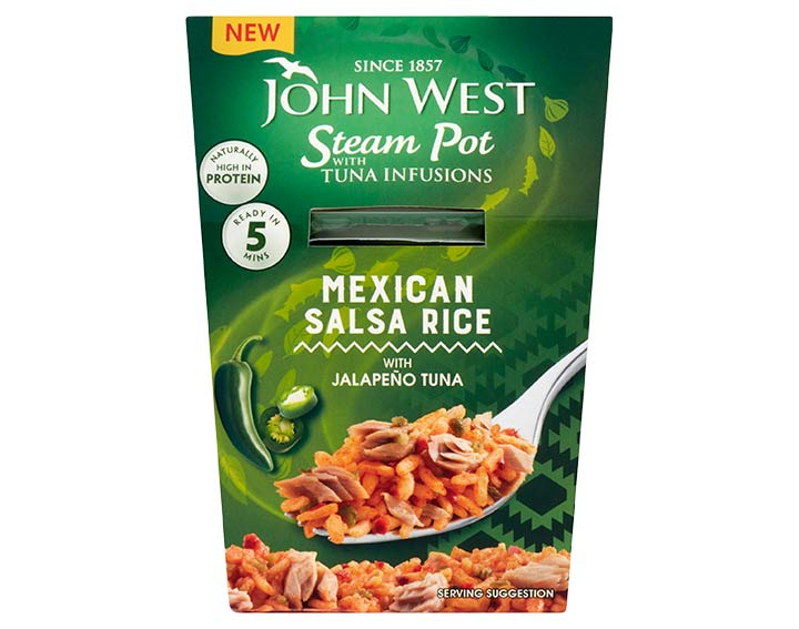 Jalapeno Tuna with Mexican Salsa Rice