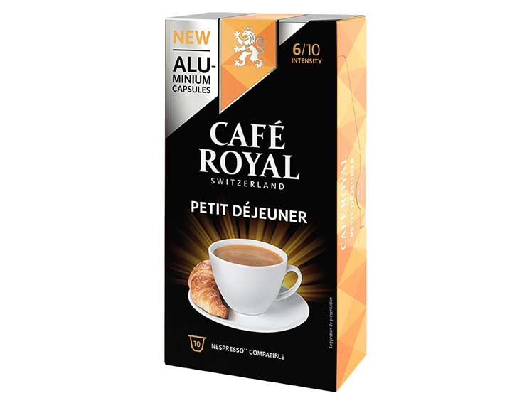 Café Royal Petit Déjeuner x10 capsules