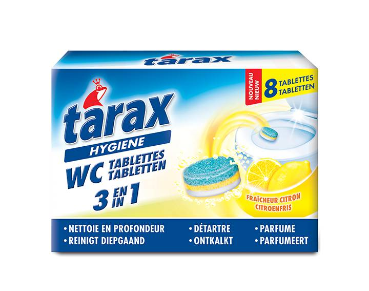 Tablettes WC 3 en 1 (8 x 25g)