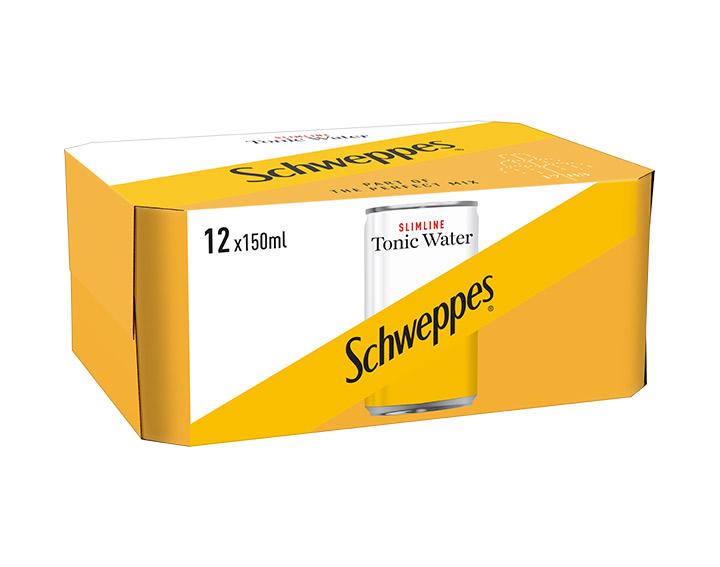 Slimline Tonic Water 12x150ml