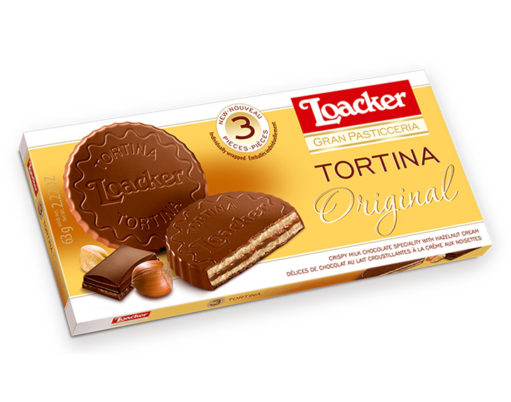 Loacker Tortina Original 63g
