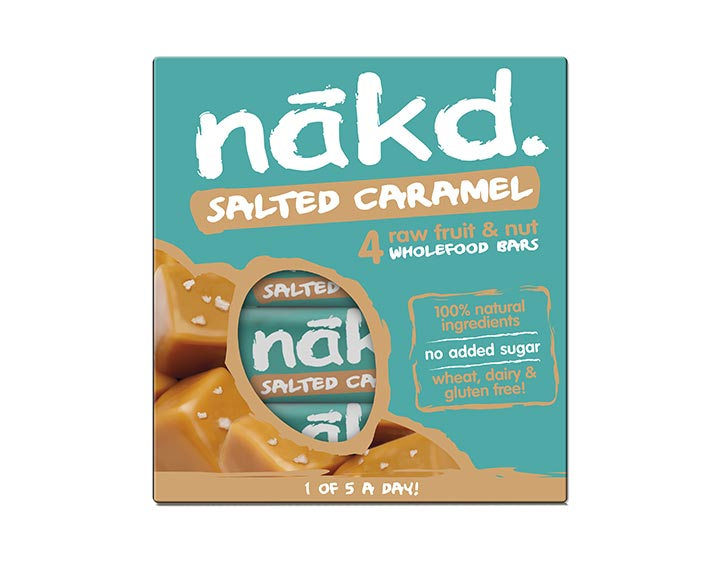 Salted Caramel Multipack 4x35g