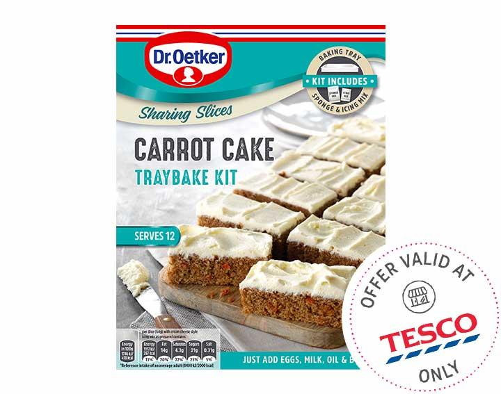 Carrot Cake 425g