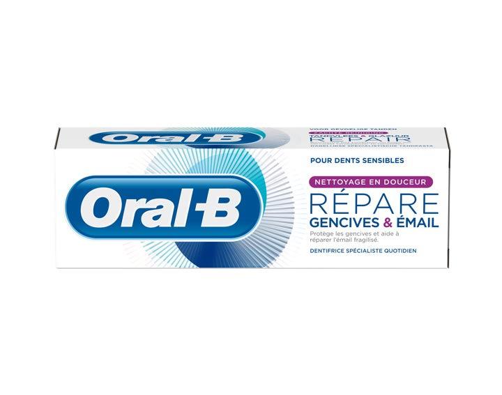 Oral-B Répare Gencives & Email Nettoyage en Douceur