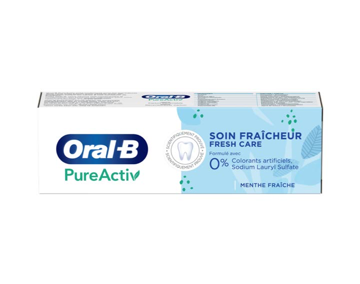 Oral-B PureActiv Soin Fraîcheur