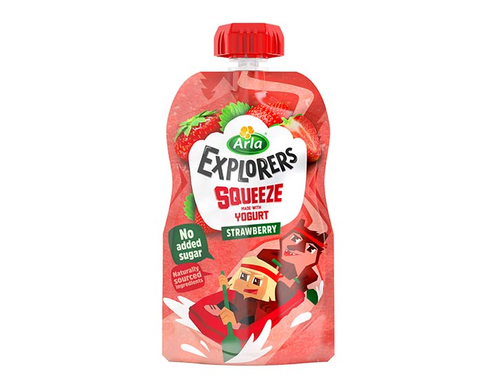 Strawberry Pouch 80g
