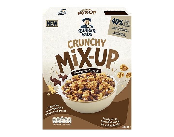 Quaker Kids Crunchy Mix-Up Chocolat 400g