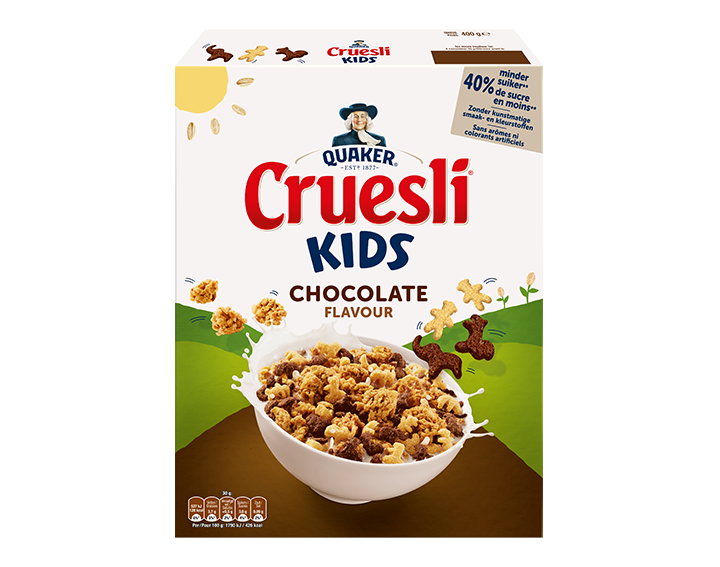 Cruesli Kids Chocolade 400g