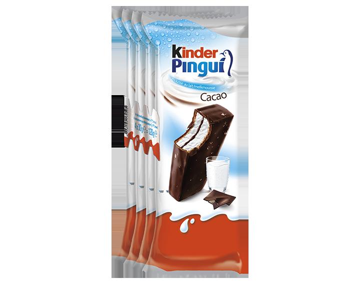 Kinder Pingui Cacao 4x30g