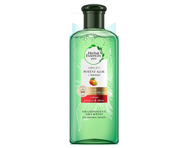 Shampooing Aloe & Mangue – Coloration