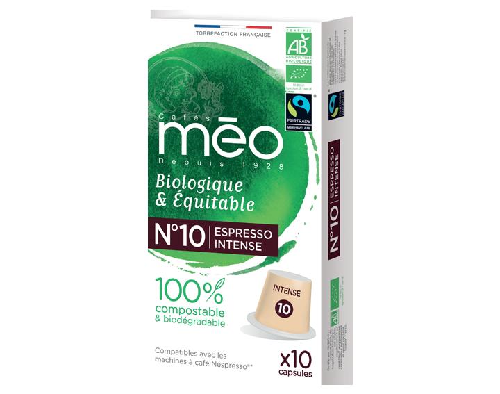Capsule compostable Bio & Équitable Intense